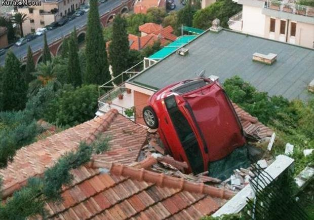 How was your Monday-car-roof
