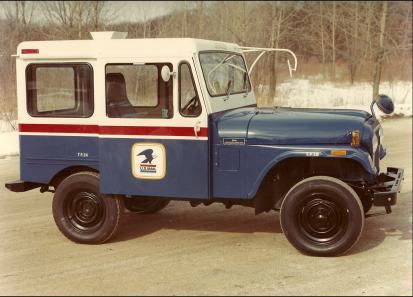 Gear Head Tuesday – USPS Jeeps | '56 Packard Man