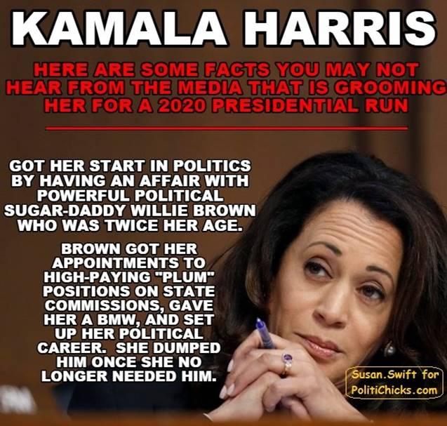 Kamala Harris-Willie Brown