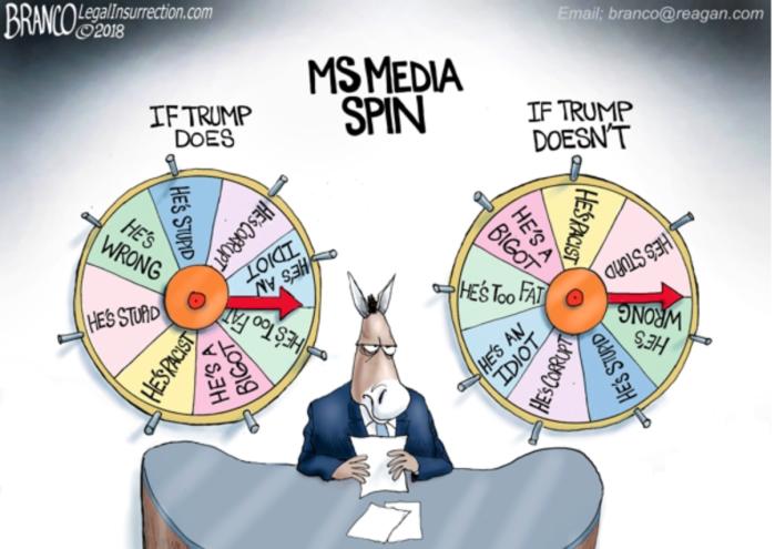 Media Spin on Trump