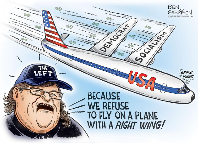 michael moore-left wing