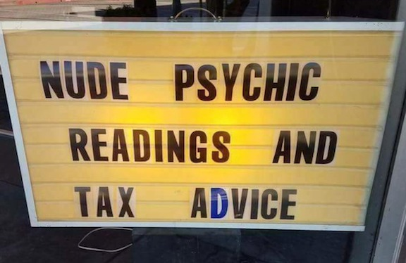 Nude psychic readings