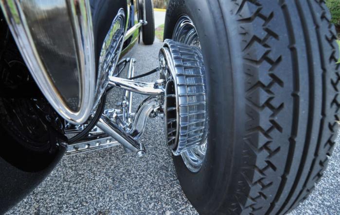 Packard boattail brake detail