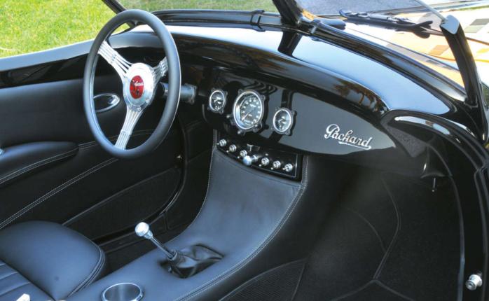 Packard boattail - dashboard