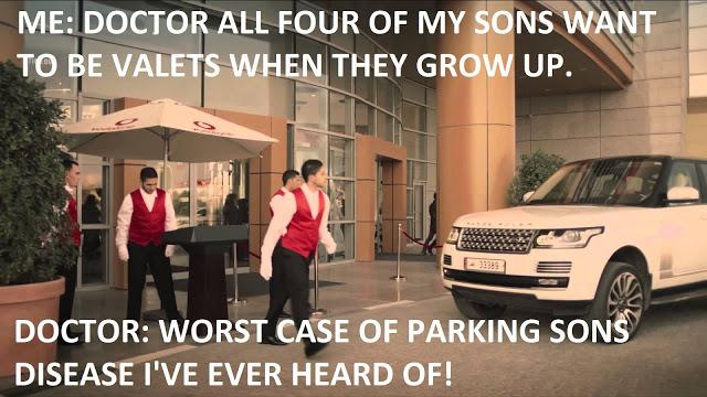 Parking Sons Disease