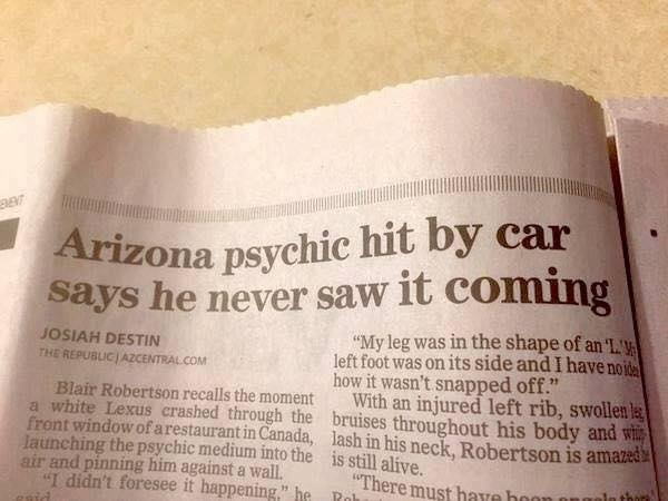 Psychic-Never-saw-it-coming...