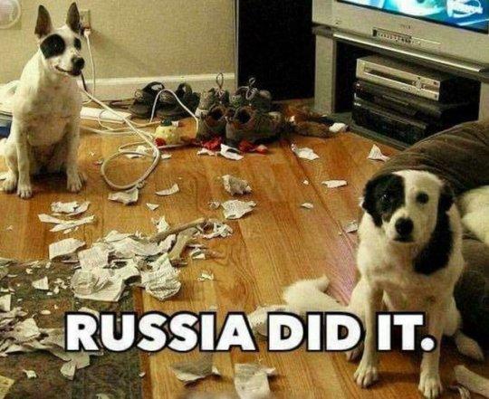 Russia did it