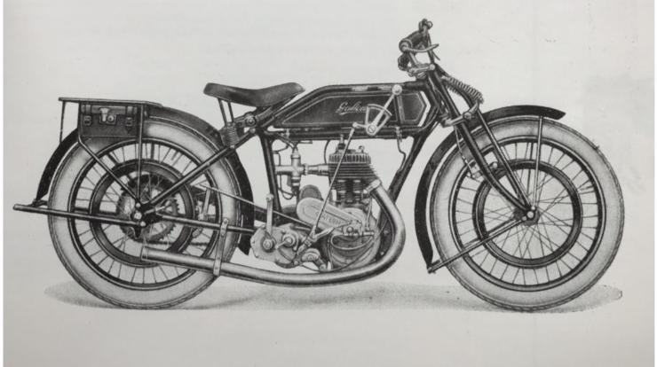 Schindler's 1924 motorcycle