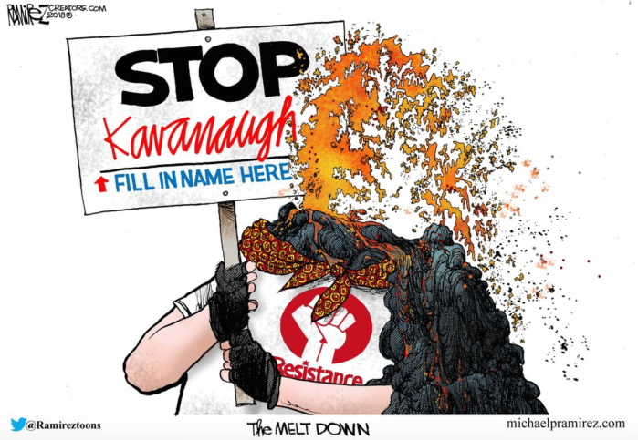 Scotus-Kavanaugh melt down