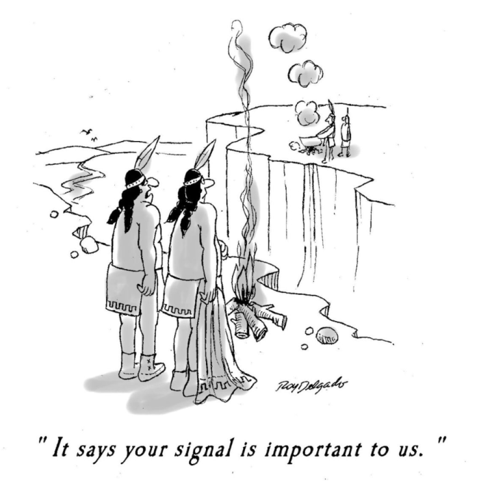 Signal is important to us