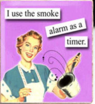 Smoke alarm timer