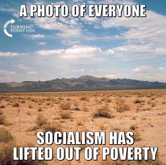 Socialism-poverty
