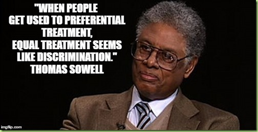 sowell on preferential treatment