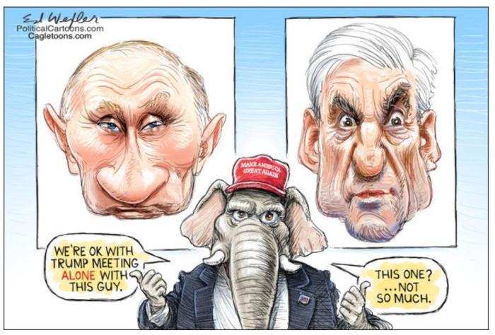 Trump-Putin-Mueller