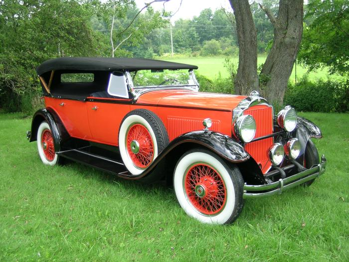 1930 Packard Painted #3