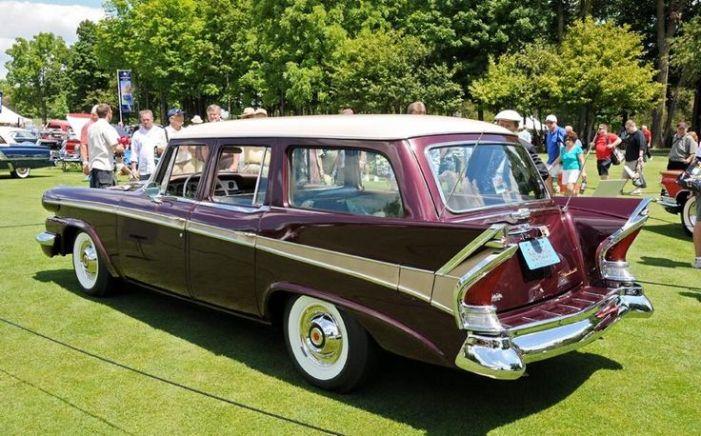 1958 Packard wagon-rear