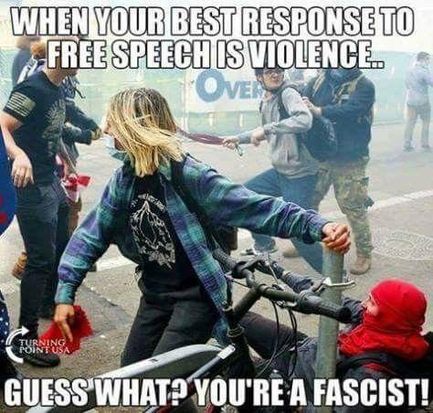 Antifa violence