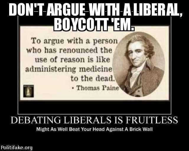 Boycott Libruls