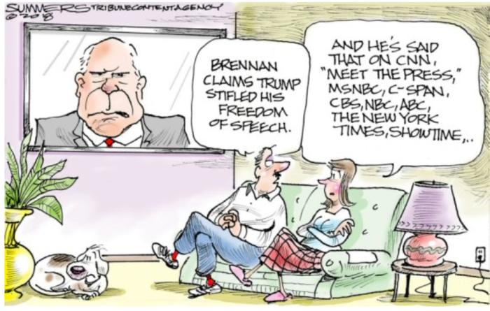 Brennan-stifled speech