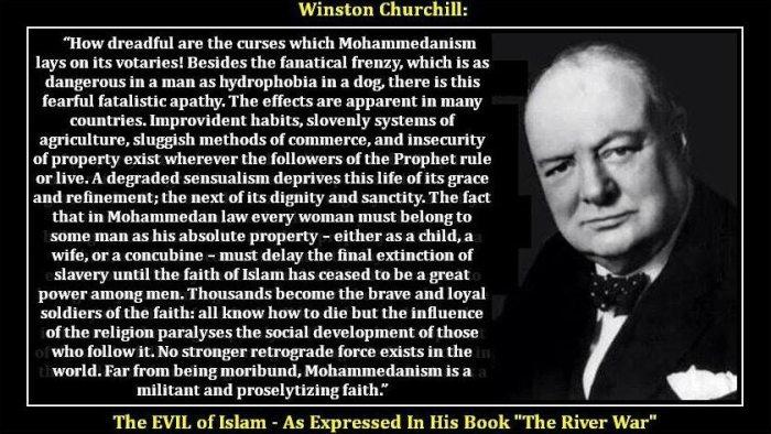 Churchill on Islam