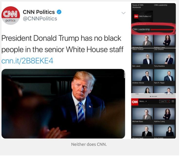 CNN-No blacks