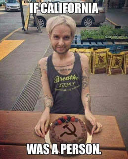 Crazifornia cake