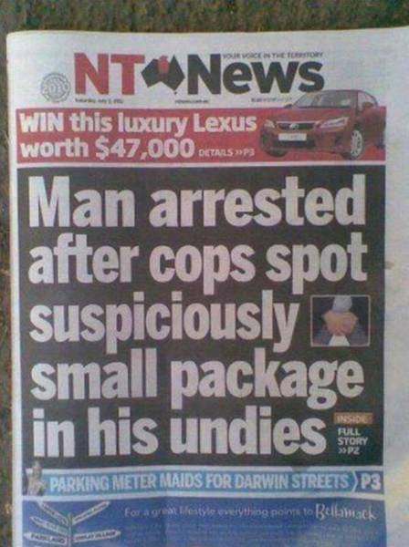 Crime - Undies