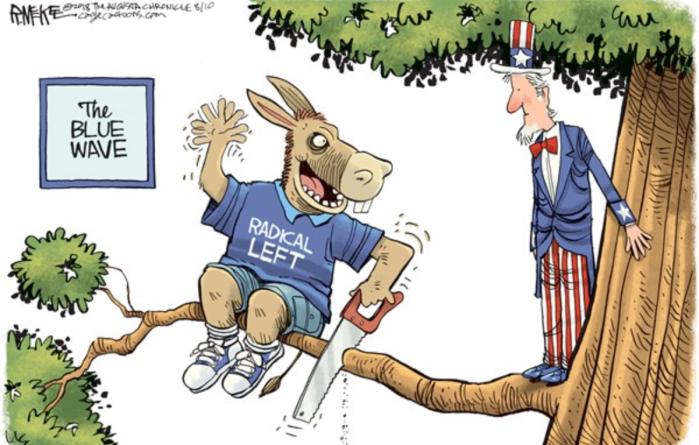 Democrats-Blue Wave-tree