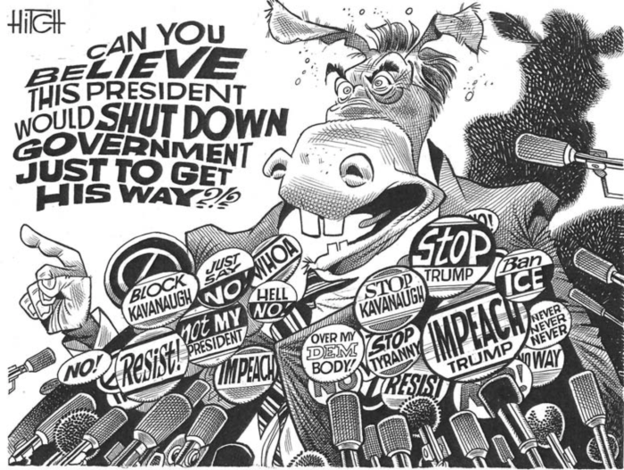 Democrats-shut down