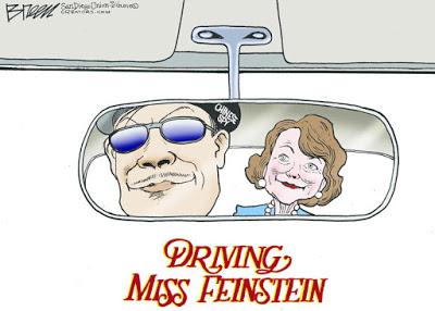 Driving Miss Feinstein