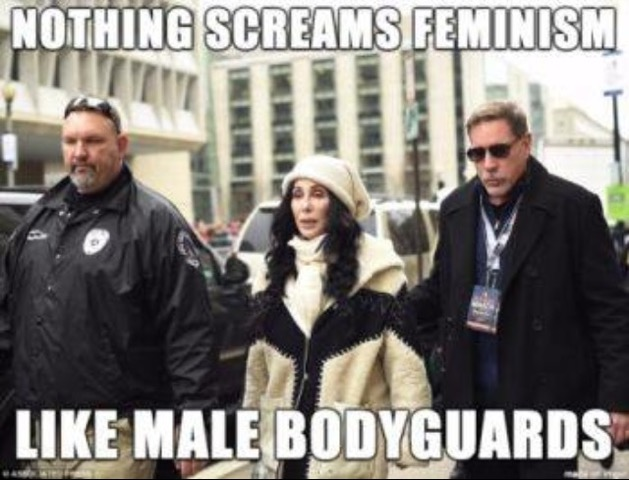 Feminism-male-bodyguards