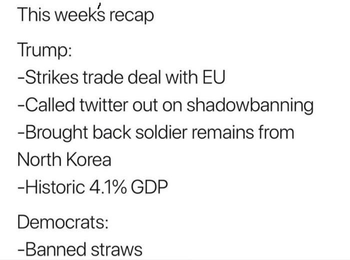 Rats - straws vs. Trump
