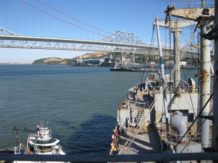 ROV - Carquinez bridges