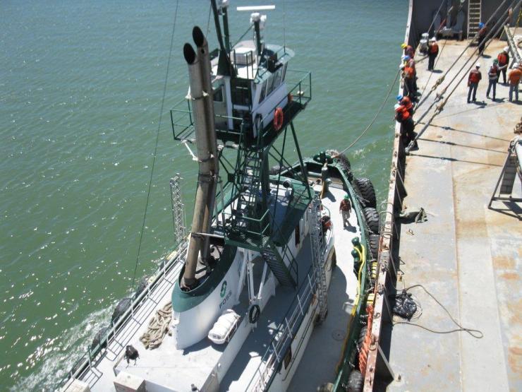 ROV - tugboat 2