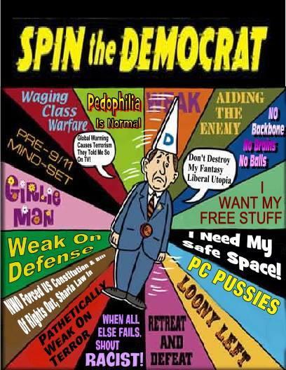 Spin the Democrat