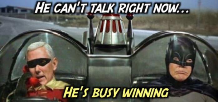 Trump-Busy Winning