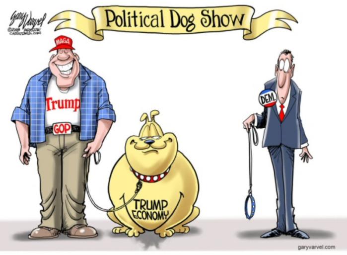 Trump-political dog show