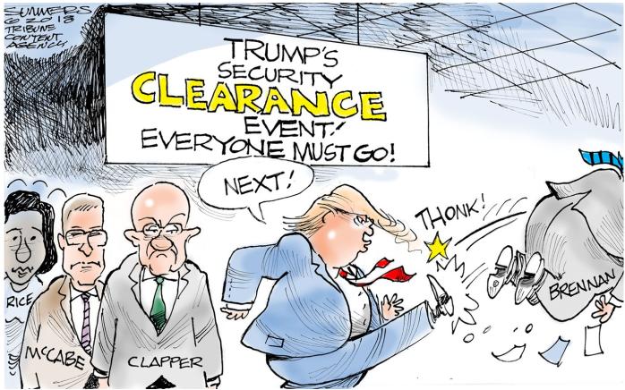 Trump Security Clearance