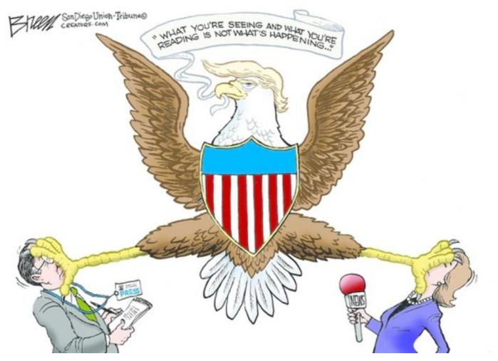 Trump-the-media