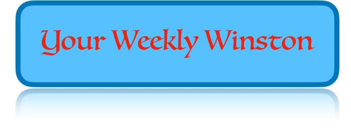 Weekly Winston