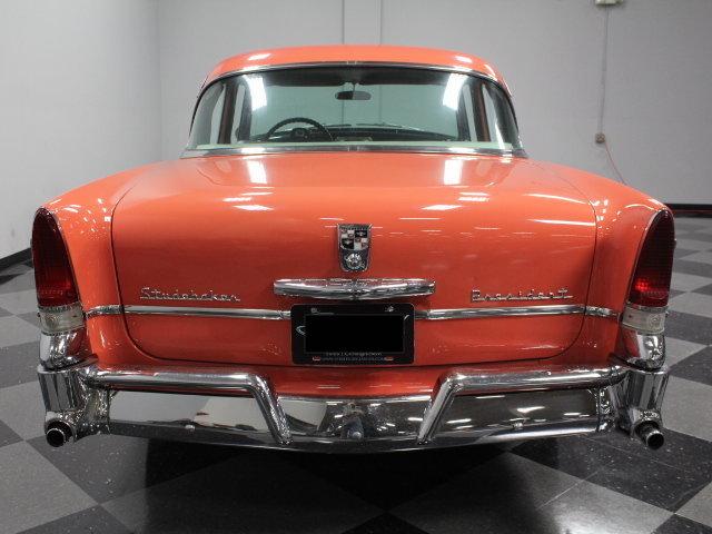 56 Studebaker President - rear