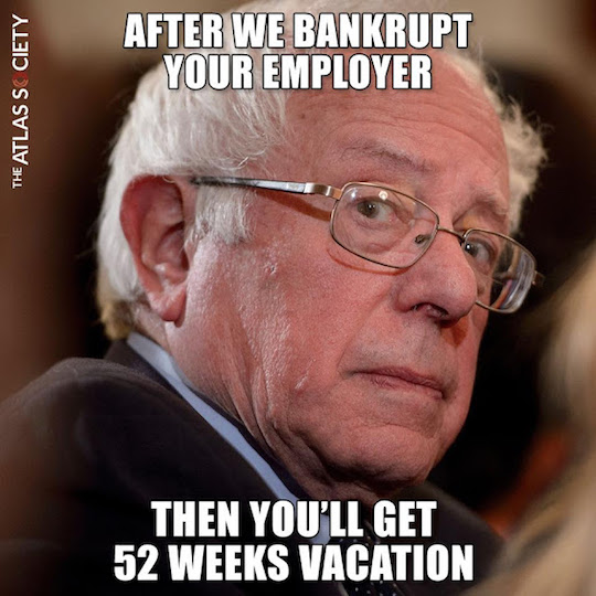 Bernie-vacation