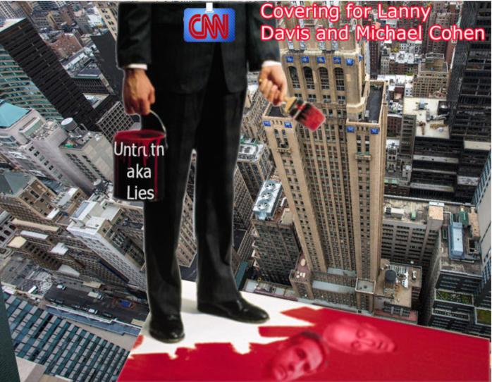 CNN - Covering for Lanny Davis