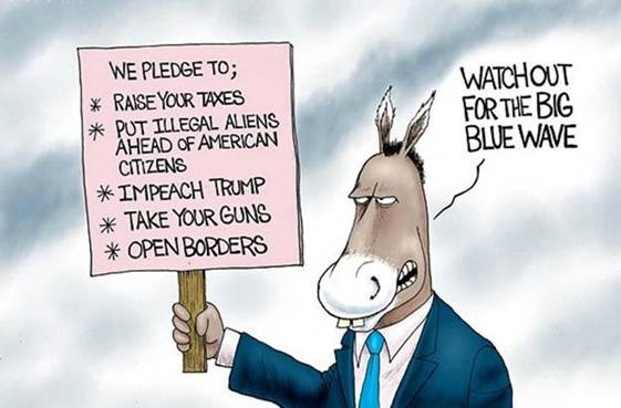 Democrat blue wave