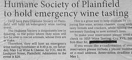 EmergencyWineTasting