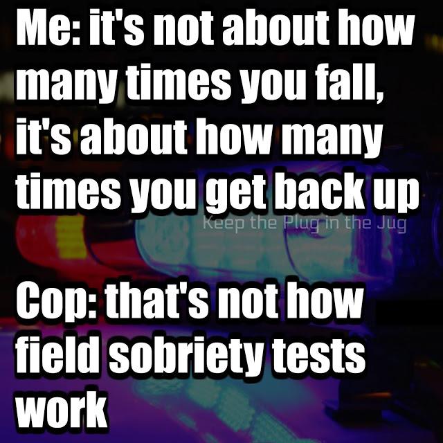 Field sobriety