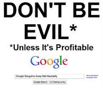 Google-don't-be-evil