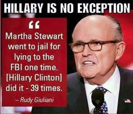 Hitlery lied to the FBI