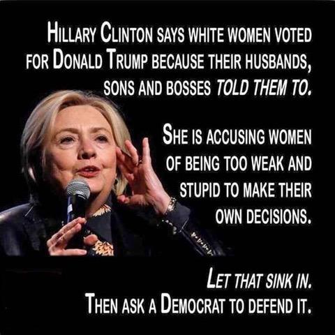 Hitlery-women voters