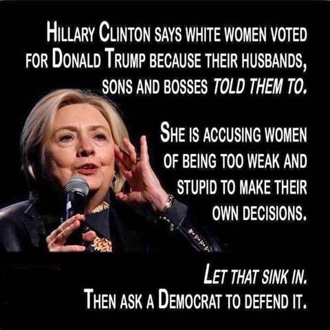 Hitlery-women voters